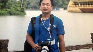 Myanmar'da cunta yönetiminin gözaltına aldığı AP muhabiri Thein Zaw