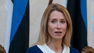 Kaja Kallas é a primeira-ministra da Estónia desde 26 de janeiro