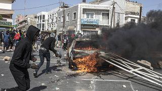 Összecsapások Szenegálban
