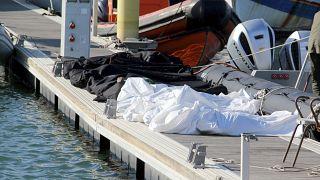 پیکر زنان و کودکان قربانی در دریای مدیترانه
