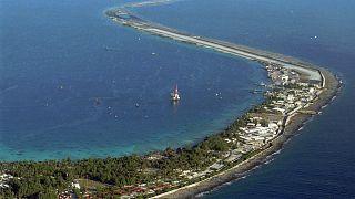 Atoll de Mururoa en Polynésie française