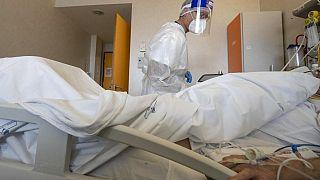 δωμάτιο νοσηλείας για covid-19