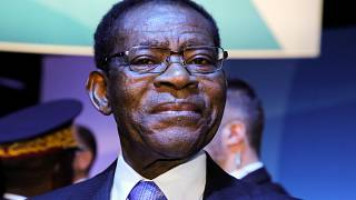 Equatorial Guinea's Vice President visits victims of deadly explosions