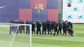 Training FC Barcelona