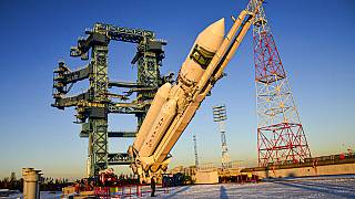 Rusya'nın uzay çalışmaları için geliştirdiği Angara-A5 roketi