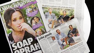 """Il titolo del Daily Telegraph: """"Soap Oprah"""""""
