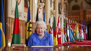 La reina Isabel II de Inglaterra, el pasado 5 de marzo