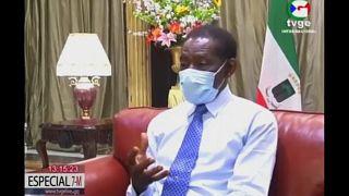 El presidente de Guinea Ecuatorial Teodoro Obiang acusa de negligencia a los militares