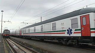 Covid-19:ΜΕΘ σε τρένα στην Ιταλία!