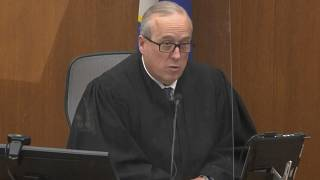Hennepin County Judge Peter Cahill presides over jury selection in the trial of former Minneapolis police officer Derek Chauvin on Tuesday, March 9, 2021