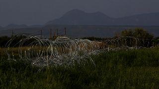 Cyprus Migrants Razor Wire