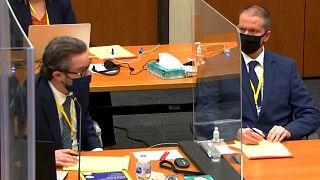 جلسه رسیدگی به پرونده قتل جورج فلوید