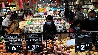 Bir Çin marketi