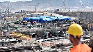 Mersin'de yapımı devam eden Akkuyu Nükleer Güç Santrali