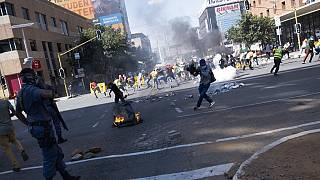 One person shot dead in South Africa student protest