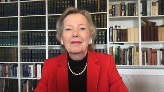 Mary Robinson, a Vének elnöke volt a Global Conversation vendége