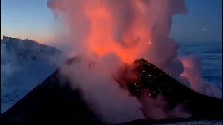 بركان كلويشيفسكايا سوبكا الروسي