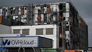Strasbourg/OVHcloud binası yangın sonrası