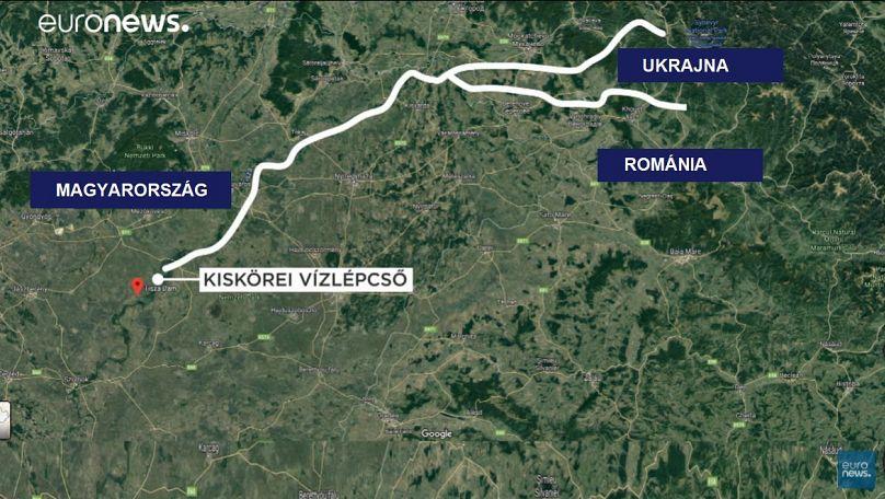 A szemét határon túl jut a folyókba / grafika: Euronews