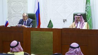 وزرای خارجه روسیه و عربستان