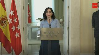 Isabel Díaz Ayuso ha prescindido de todos los consejeros del partido Ciudadanos