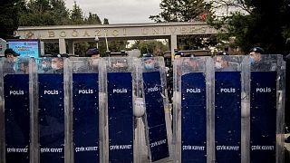 Boğaziçi Üniversitesi'nde polis (Arşiv)