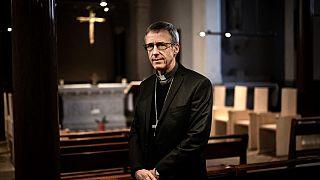 Le nouvel archevêque de Lyon Olivier de Germay