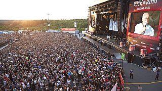 صورة من الارشيف- مهرجان روك إيم بارك - ألمانيا