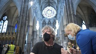 L'abbazia di Westminster convertita in centro di vaccinazioni