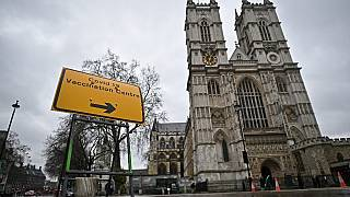 Centro de Vacinação em Londres, Reino Unido