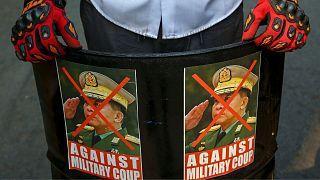 آمریکا فرزندان رهبر کودتای میانمار را مجازات کرد