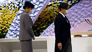 L'Imperatore Naruhito e l'Imperatrice Masako.