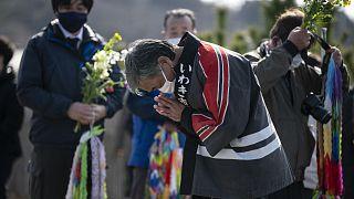 Homenaje a las víctimas de Fukushima