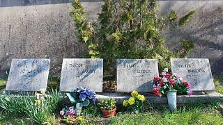 Il luogo dove riposano i quattro migranti morti nel 1973 a Sant'Antonio in Bosco