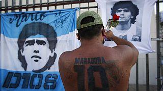 هواداران مارادونا خواستار اجرای عدالت در پرونده مرگ اسطوره دنیای فوتبال شدند