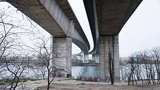 Prosecutors say the incident took place under a road bridge by the River Seine in Argenteuil, on the outskirts of Paris.