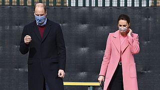 Prinz William und Herzogin Kate beim Besuch einer Schule im Osten von London