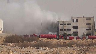 عشرات الضحايا جراء حريق بمصنع للملابس