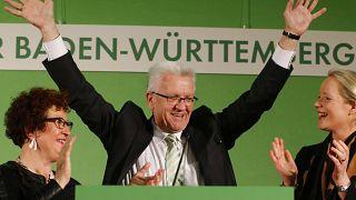 El gobernador Winfried Kretschmann, principal candidato del Partido Verde que lidera las encuestas en el estado de Baden-Wurtemberg.