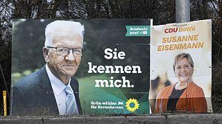 Verdes e CDU disputam eleições estaduais em Baden-Württemberg