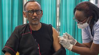 Rwanda's Kagame is first East African leader to receive Covid vaccine