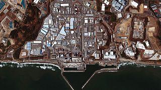 Satellitenaufnahme von Fukushiùa