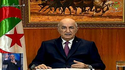 Algerian president sets June date for early legislative elections