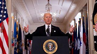 Presidente dos EUA proferiu discurso à nação da ala leste da Casa Branca