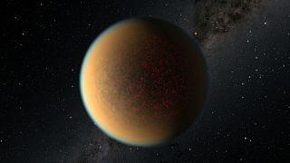 كويكب في المدار الفضائي