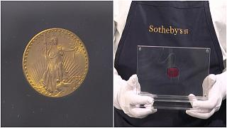 قطعة نقود ذهبية أميركية تقدر قيمتها بين 10 و15 مليون