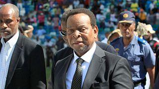 ملك شعب الزولو في جنوب إفريقيا غودويل زويليتيني - أرشيف 2015
