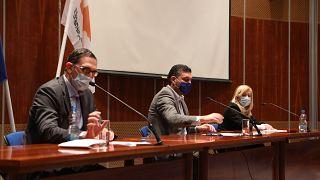 Σύσκεψη υπουργών Υγείας, Οικονομίας και Εργασίας - ΚΥΠΡΟΣ