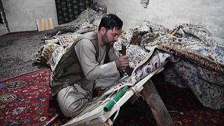 صيد السجاد التقليدي - أفغانستان