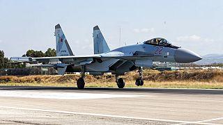 Rusya'nın ürettiği Su-35 savaş uçağı